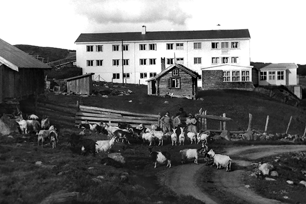 Gamle tider i Ål. Old times in the village Ål